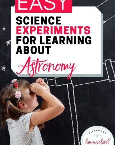 Easy Science Experiments for Learning About Astronomy