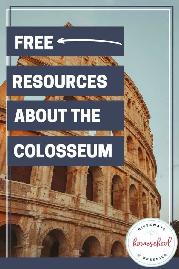 FREE Resources About the Colosseum