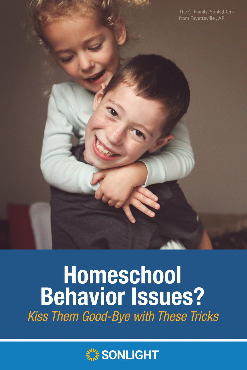 Homeschool Behavior Issues? Kiss Them Good-Bye with These Tricks