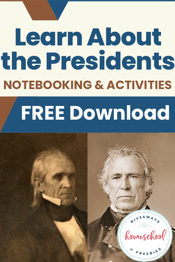 free Presidents homeschool curriculum