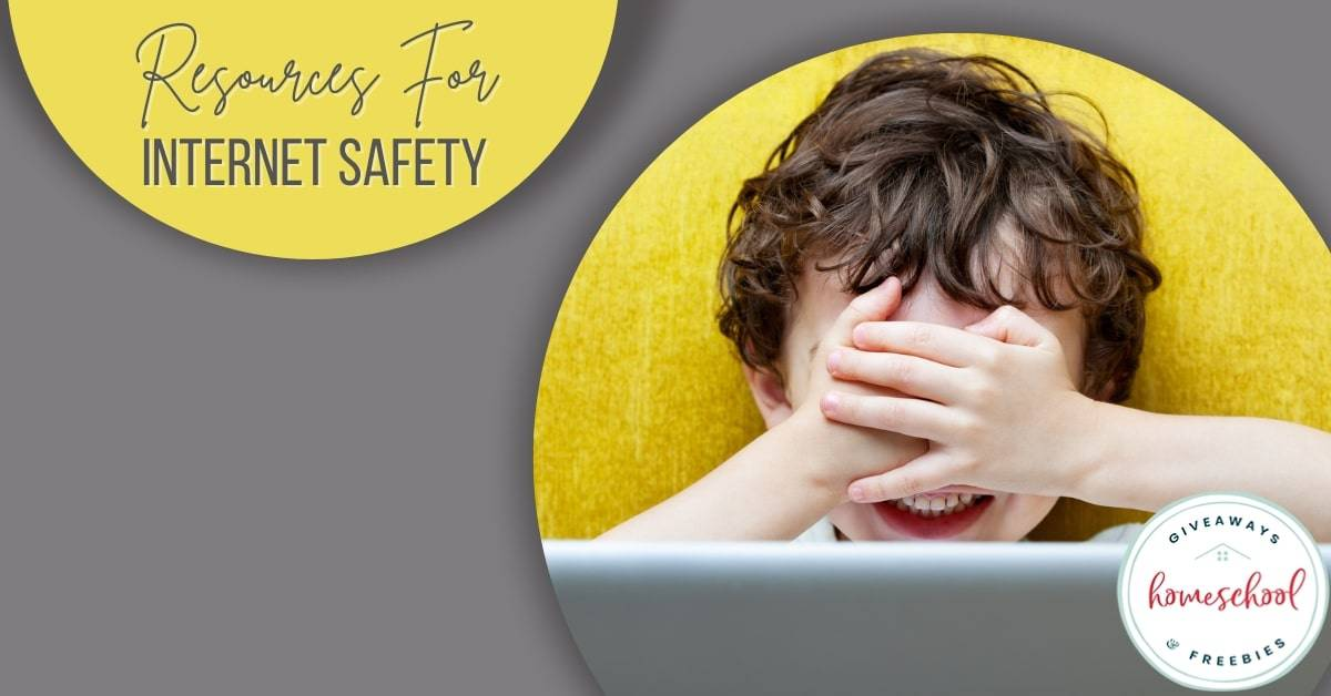 Resources for Internet Safety. #internetsafety #internetsafetyforkids #internetsafetyresources