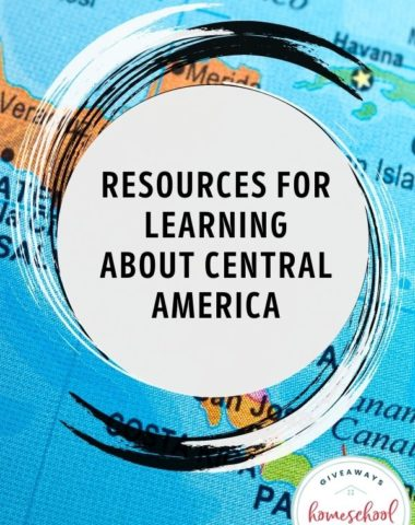 Resources for Learning About Central America. #studyingCentralAmerica #CentralAmericancountries #CentralAmericaunitstudy #CentralAmericaresources