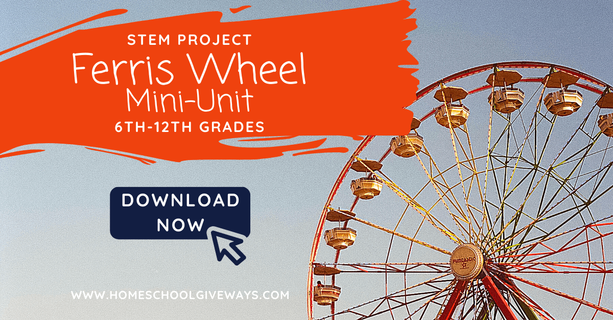 Free Ferris Wheel Mini Unit Resources Homeschool Giveaways