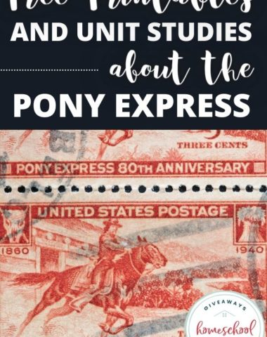 Free Printables and Unit Studies About the Pony Express. #ThePonyExpress #ponyexpressprintables #ponyexpressuntistudy #ponyexpressresources #westwardexpansionponyexpress