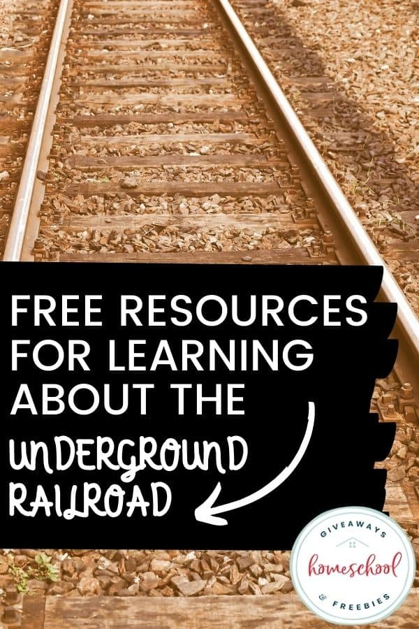 Free Resources for Learning About the Underground Railroad. #undergroundrailroadresources #undergroundrailroadprintables #undergroundrailroadunit