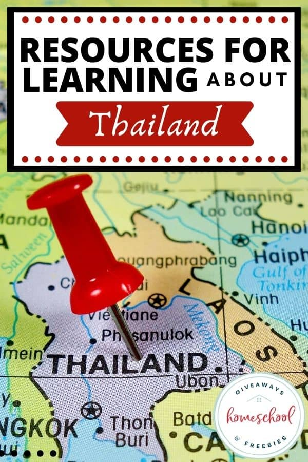 Resources for Learning About Thailand. #thailandresources #thailandunitstudy #thailandprintables