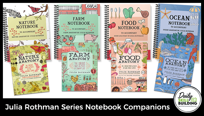 Julia Rothman Series Notebook Companions