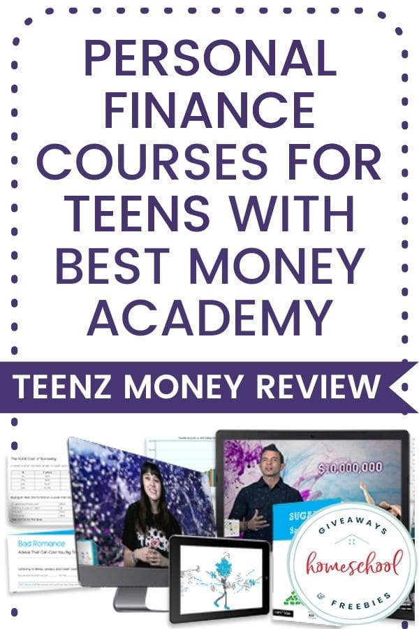 Personal Finance Courses for Teens with Best Money Academy - Teenz Money Review
