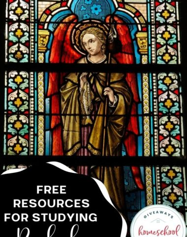 Free Resources for Studying Raphael. #homeschoolgiveaways #studyingraphael #raphaeluntistudy #raphaelresources