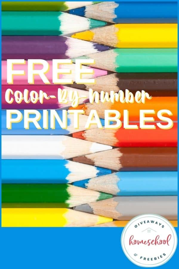 FREE Color by Number Printables