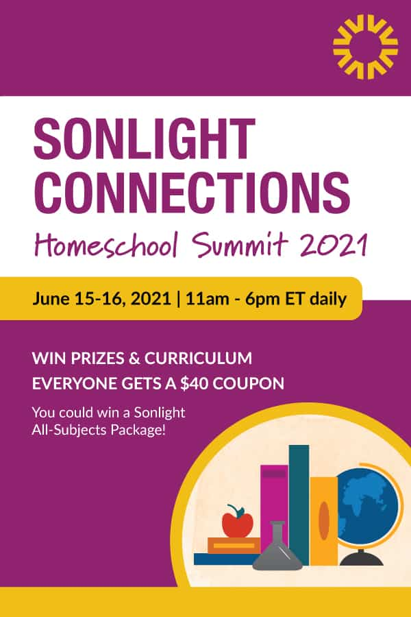 Register for Sonlight Connections to Get a $40 Coupon & Enter to Win Prizes