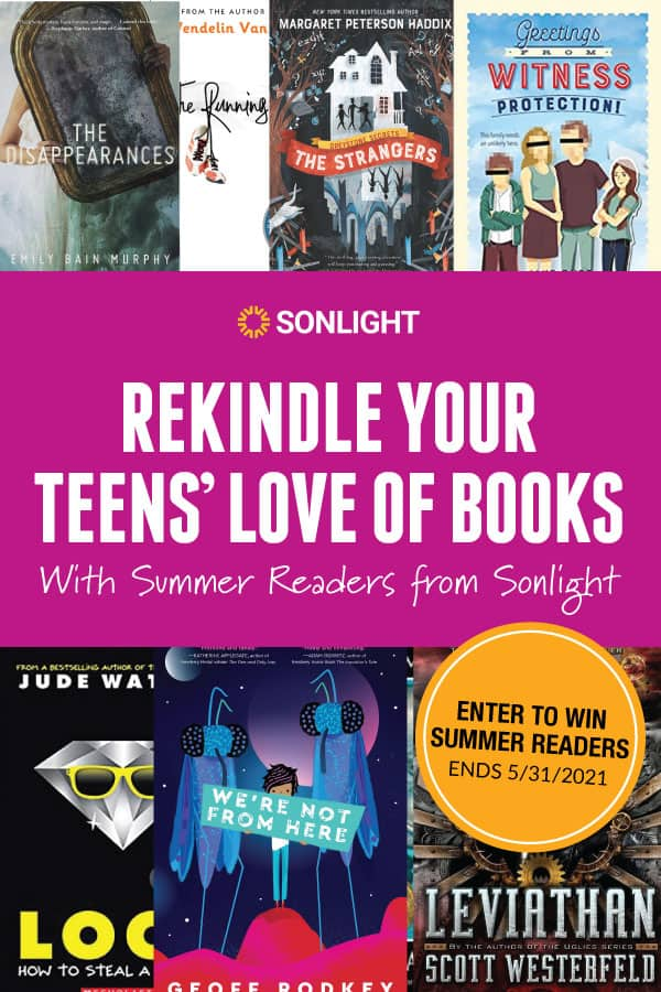 Enter to Win Summer Readers & Rekindle Your Teens' Love of Books