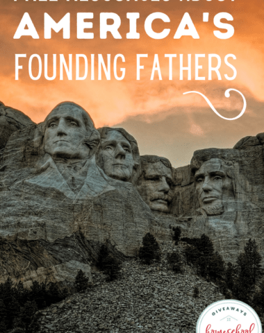 Mount Rushmore presidents image with text overlay